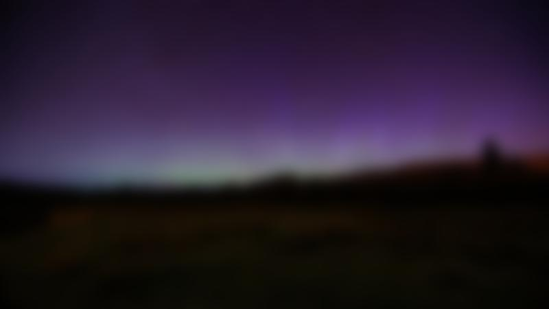 Night sky at Mugdock Country Park in Glasgow