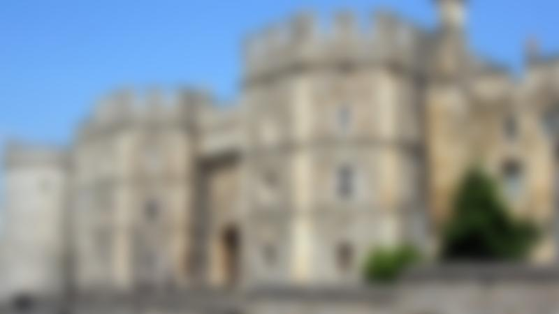 Outside view of Windsor Castle