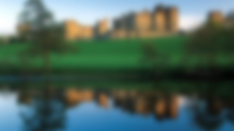 Outside view of Alnwick Castle