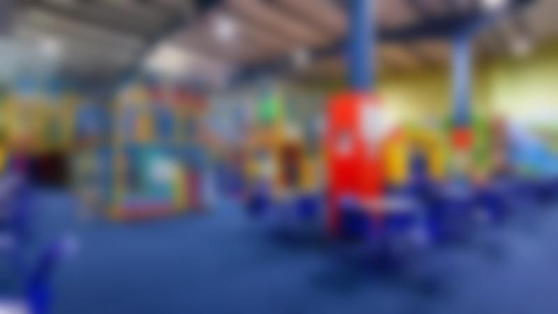 Indoor soft play frame and cafe area at Go Kids Go in Dublin