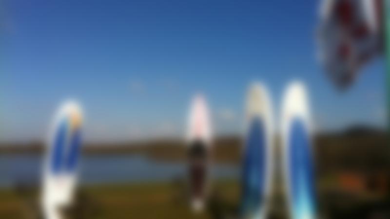 Surfboards at Horseshoe Lake Activity Centre in Sandhurst