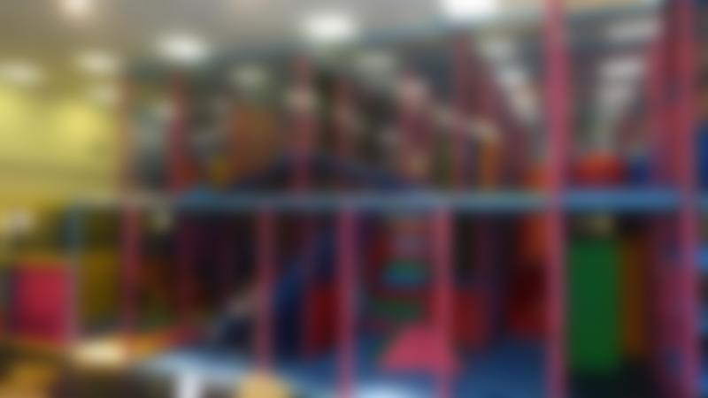 Indoor soft play frame at Play Planet Wallasey