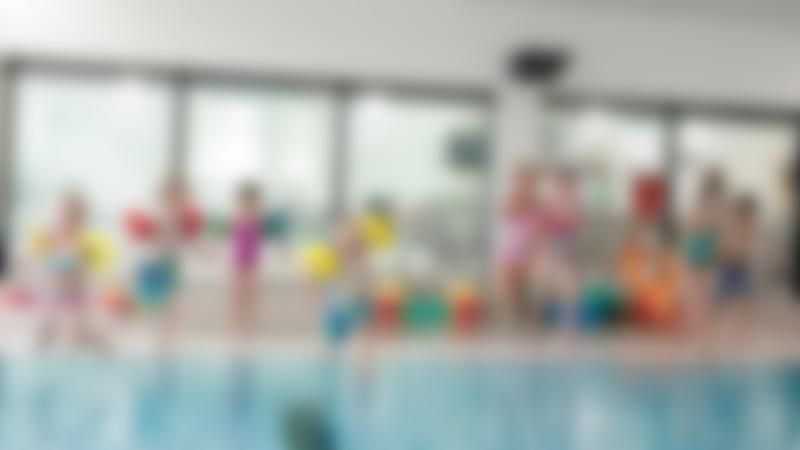 Kids jumps into swimming pool at Michael Woods Sport and Leisure in Glenrothes