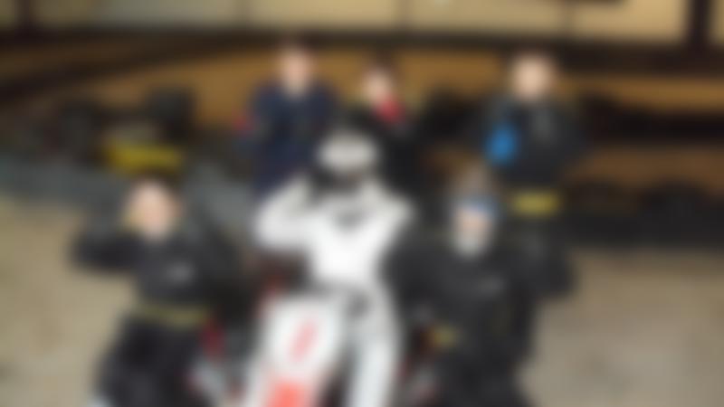 Kids at Top Gear Karting in Durham