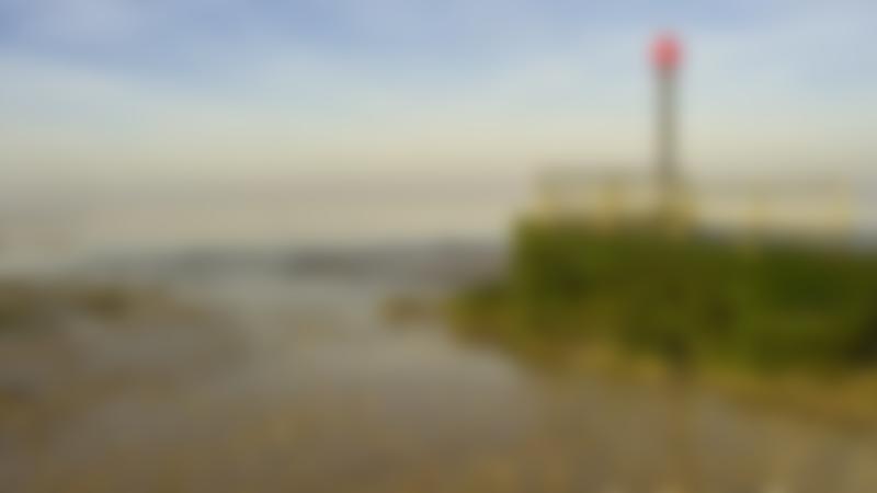 A view of Heacham South Beach, Heacham