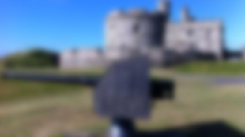 Outside view of Pendennis Castle in Falmouth