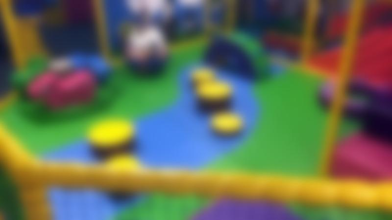 Toddler soft play area at Merlins Magic Childrens Play Centre in Haverfordwest