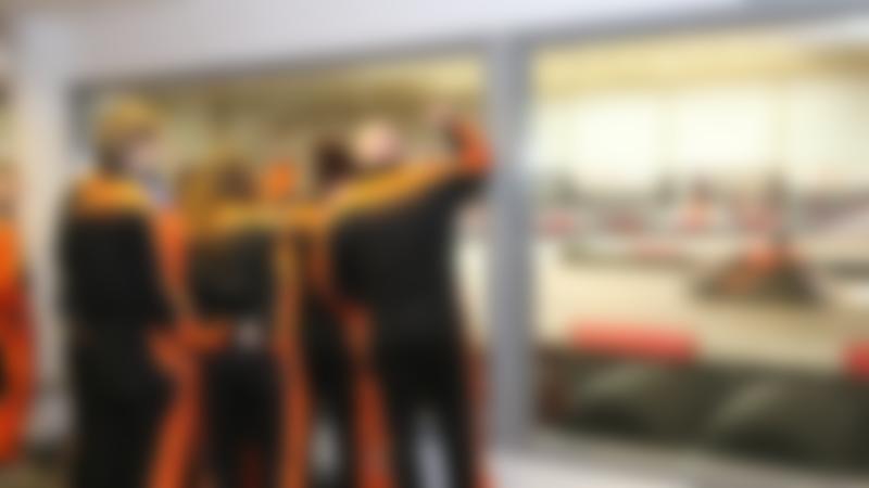 Racing team at Xtreme Karting Falkirk