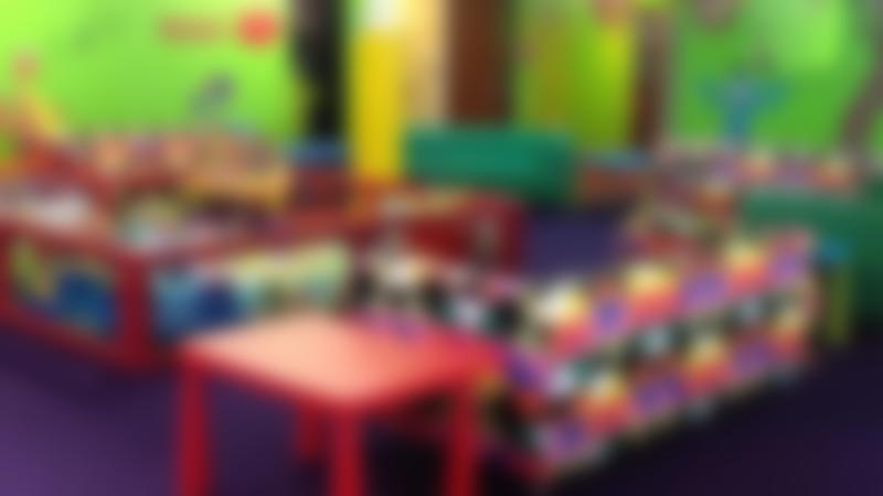 Toddler soft play and seating area at Monsters Ltd Indoor Play Centre