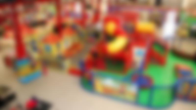 Indoor soft play frame at Happy Town in Newtownards