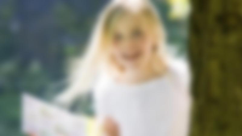 Girl on Symonds Yat Treasure Hunt Trail