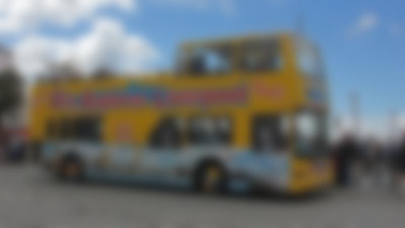 City Explorer Liverpool at bus stop