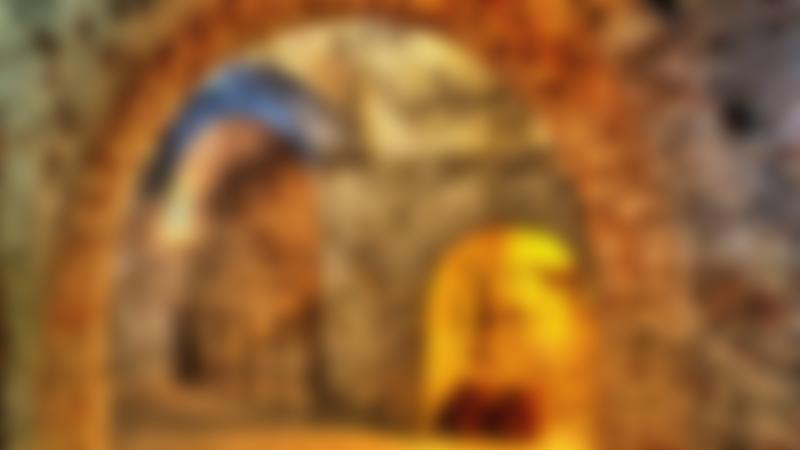 Underground tunnels at Fort Amherst in Chatham