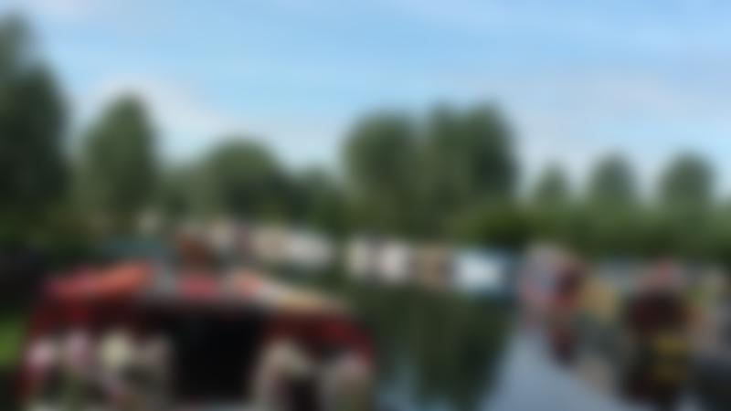 Canal boats at Chelmer Cruises in Chelmsford