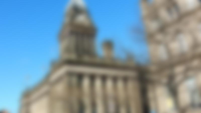 Leeds Town Hall on Curious About Leeds trail