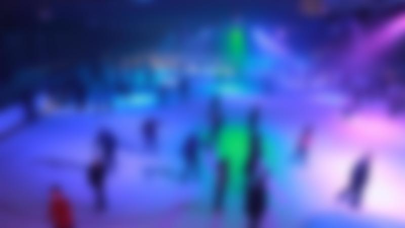 'Blackout disco' night at Whitley Bay Ice Rink