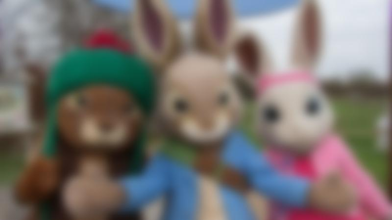 Beatrix Potter's rabbit characters at Willows Activity Farm in St Albans