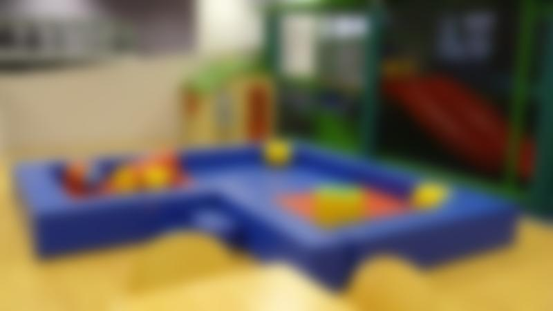 Toddler soft play area at Little Daisys in Shipley