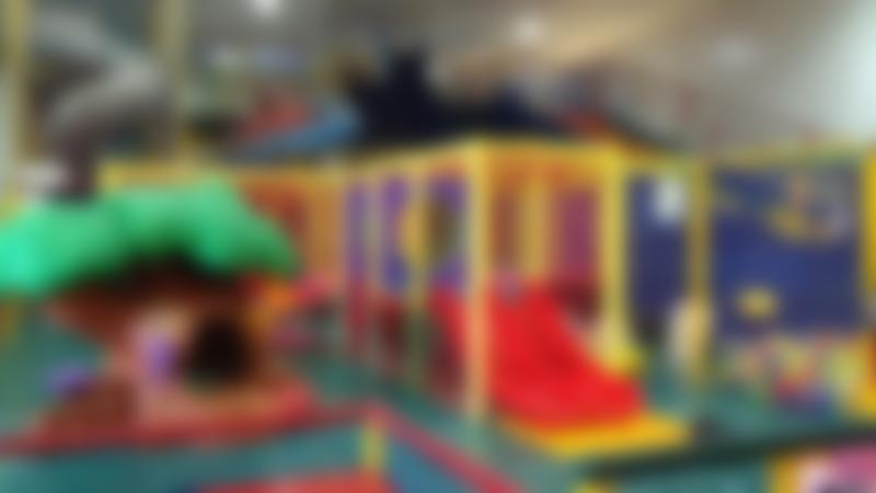 Indoor soft play frame at Wear M Out Indoor Playcentre in Maidstone