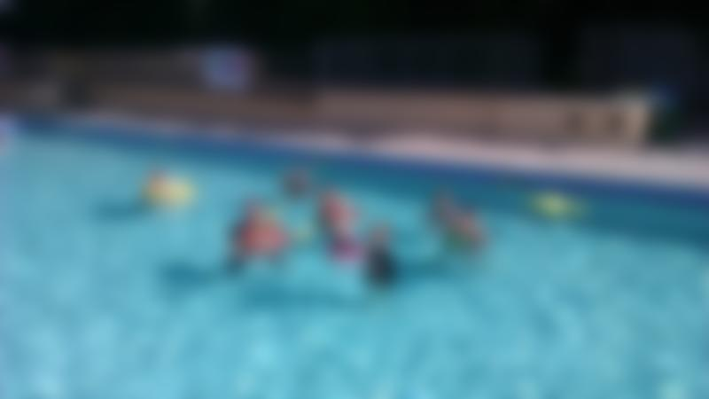 Families swimming pool at Chudleigh Lido in Newton Abbot