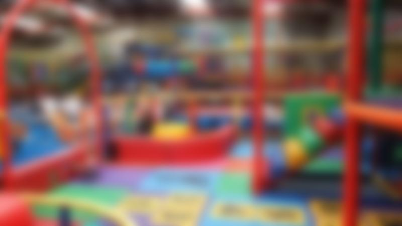 Toddler soft play area at Tigers Indoor Play in Daventry