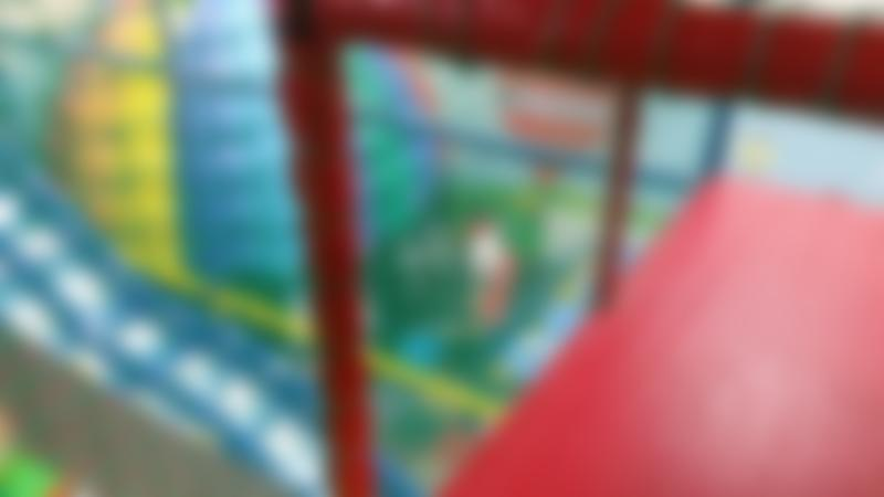 Indoor soft play frame at Ruff and Tumble in Glasgow