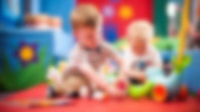 Toddlers playing at Wacky Warehouse - Waggon and Horses in Wilmslow
