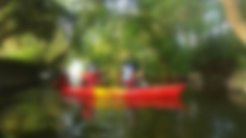 People canoeing at Kempston Outdoor Centre in Kempston