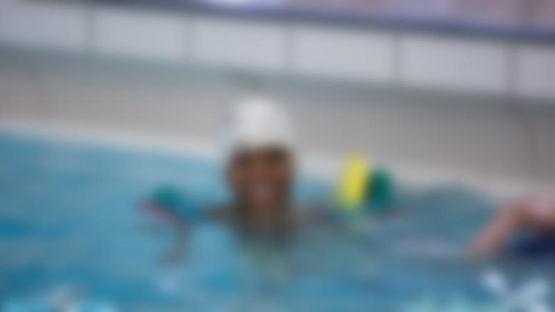 Boy in swimming pool at Luton Sports Village