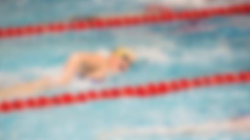 Woman in swimming pool at Luton Sports Village