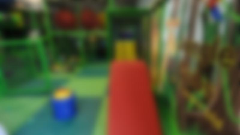 Toddler soft play area at Jungle Jims Playland in Sandy