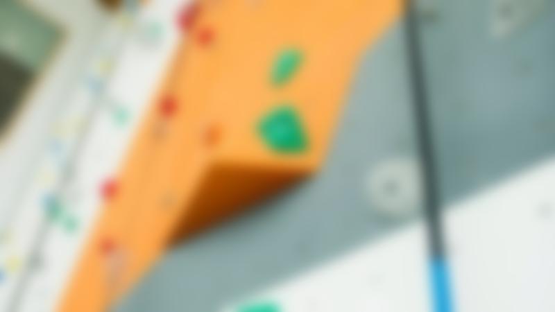 Climbing wall at Cockermouth Sports Centre