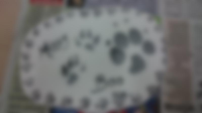 Animal footprints craft at Eastcott Studios in Swindon