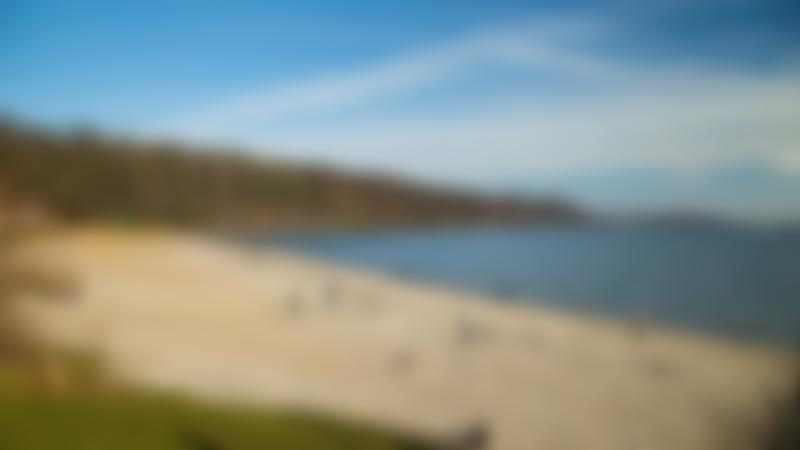 People at Aberdour Silver Sands