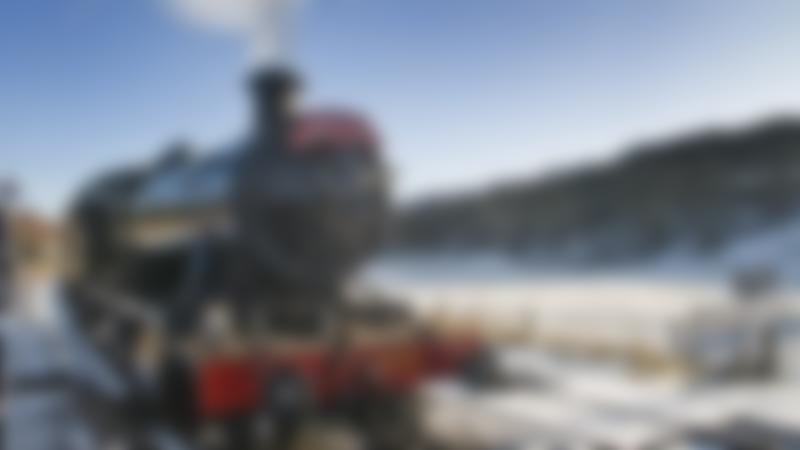 Santa Special Train at Llangollen Railway