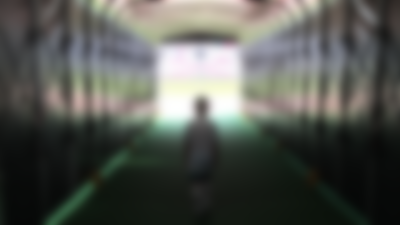 Boy in tunnel at London Stadium Tour