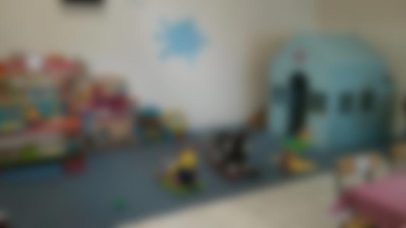Toddler play area at Lollipops and Ladybirds in Cwmbran