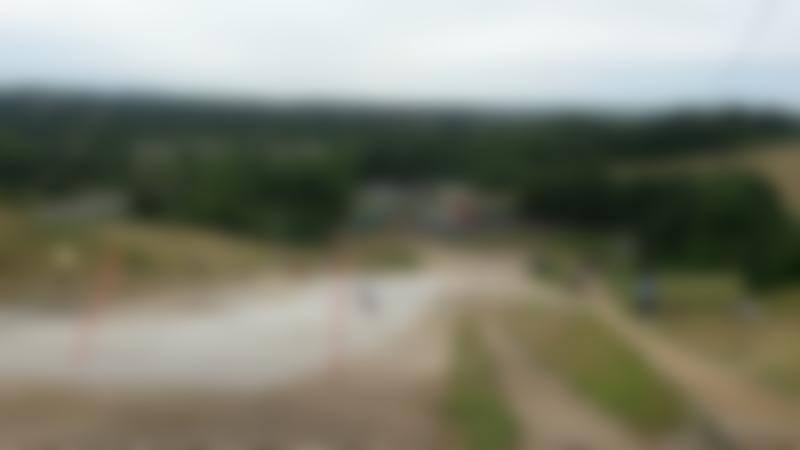 Ski slope at Suffolk Ski Centre in Ipswich