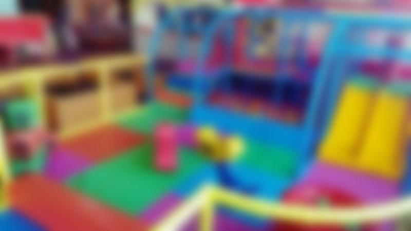 Toddler soft play area at Fantastic Funhouse in Oswestry