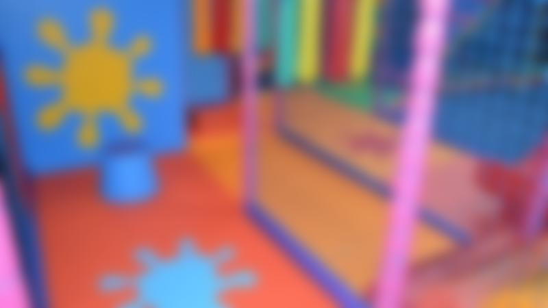 Indoor soft play frame at Tumble Town Indoor Playcentre in Nottingham