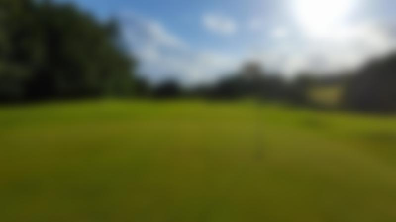 Golf hole at Heaton Park Golf Centre in Prestwich