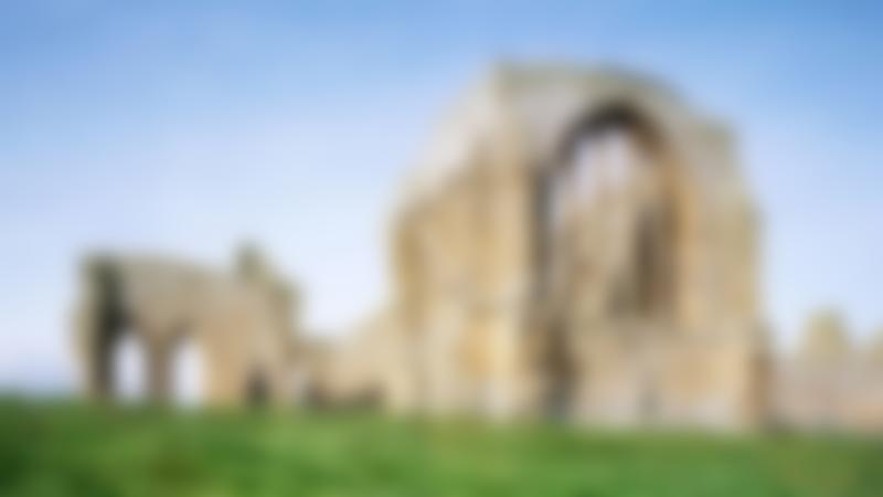 Ruins of Egglestone Abbey in Barnard Castle