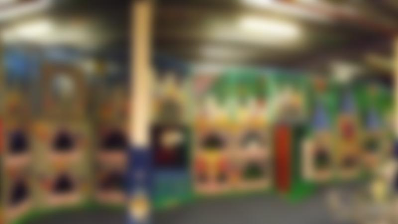 Indoor soft play frame at Funtastic Workington
