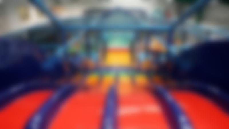 Soft play slide at Fun Factory Ballymena