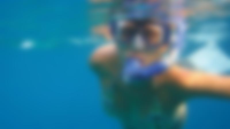 Girl swimming at Eccleshill Pool in Bradford