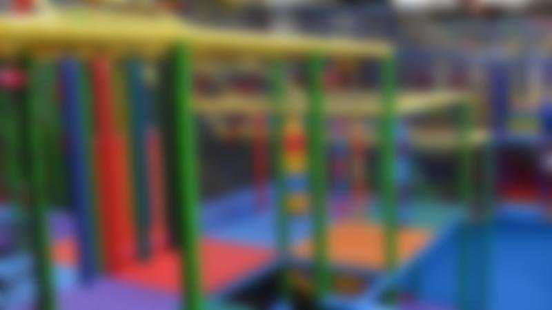 Indoor soft play frame at Tigers Indoor Play in Daventry