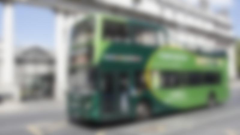 Passengers on Dublin Bus Tour