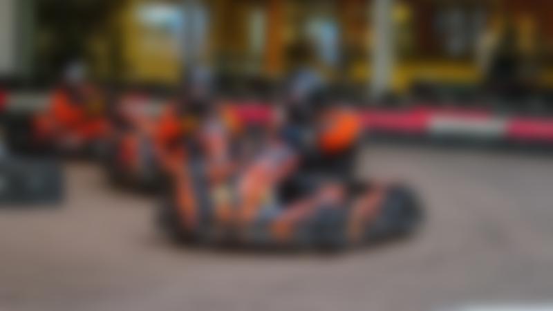 People go kart racing at Xtreme Karting Falkirk