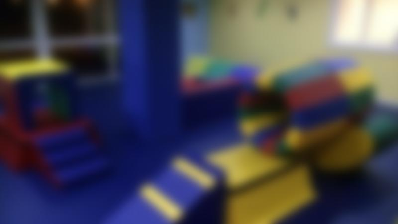 Toddler soft play area at Gym Juniors in Nantwich