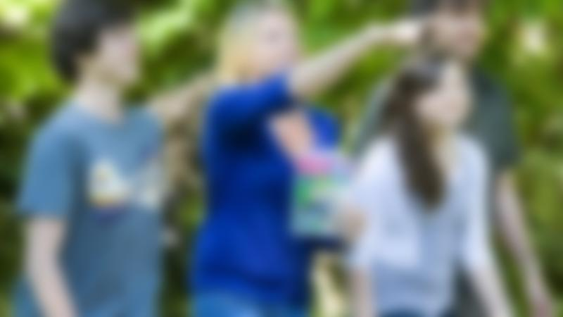 Family following Woodhall Spa Spy Mission Treasure Trail